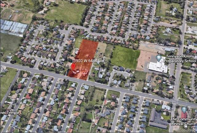 3900 W 64th Avenue, Arvada, CO 80003 (MLS #3584460) :: 8z Real Estate
