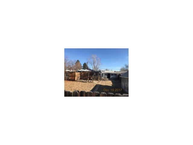 4460 S Bannock Street, Englewood, CO 80110 (#3586456) :: Wisdom Real Estate