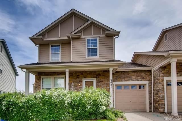 3451 E 123rd Drive, Thornton, CO 80241 (#3587352) :: The Griffith Home Team