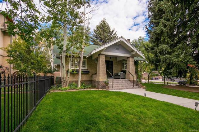 600 Saint Paul Street, Denver, CO 80206 (MLS #3588607) :: 8z Real Estate