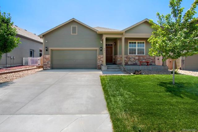 401 Clubhouse Drive, Fort Lupton, CO 80621 (#3590400) :: The Tamborra Team