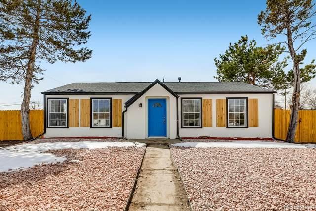 5402 E 60th Way, Commerce City, CO 80022 (#3590529) :: Finch & Gable Real Estate Co.