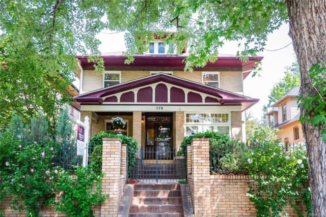 578 N High Street, Denver, CO 80218 (#3591172) :: The Peak Properties Group