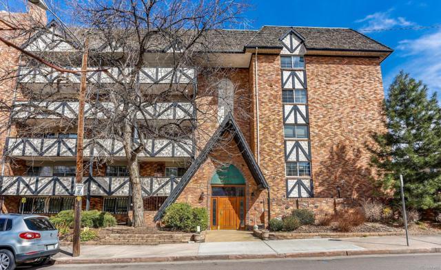 1350 Josephine Street #307, Denver, CO 80206 (#3592286) :: Wisdom Real Estate