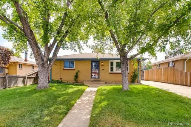 1814 S Eliot Street, Denver, CO 80219 (#3593753) :: Sellstate Realty Pros