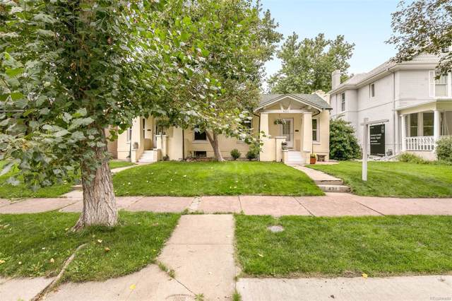 421 N Ogden Street, Denver, CO 80218 (MLS #3594180) :: 8z Real Estate