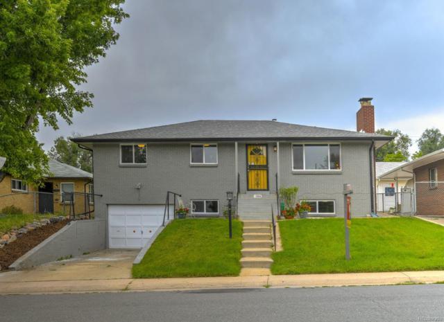 1364 W Center Avenue, Denver, CO 80223 (#3597295) :: Bring Home Denver