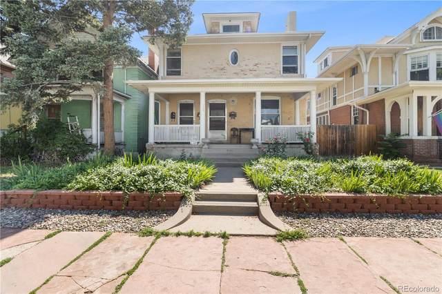 936 N Ogden Street, Denver, CO 80218 (#3599205) :: The Griffith Home Team