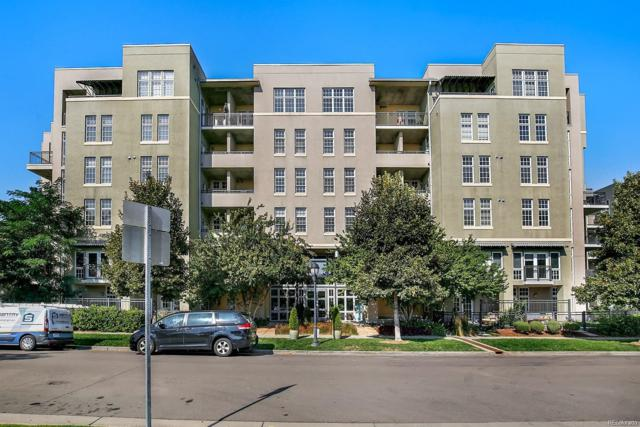 275 S Harrison Street #313, Denver, CO 80209 (#3599344) :: House Hunters Colorado