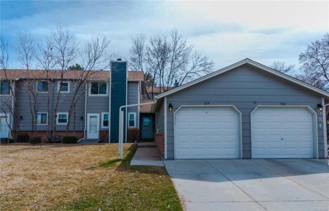 574 W Crestline Avenue 11D3, Littleton, CO 80120 (#3602375) :: Colorado Team Real Estate