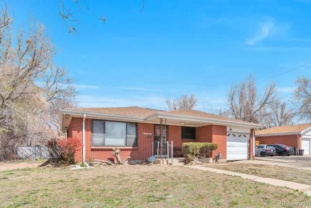 13865 E 24th Avenue, Aurora, CO 80011 (#3602765) :: The Griffith Home Team