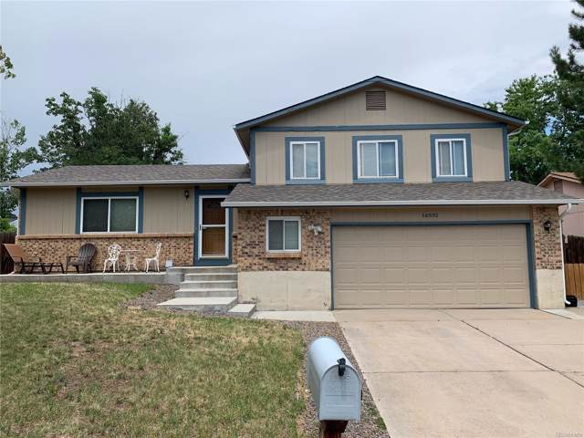 14551 E Gunnison Place, Aurora, CO 80012 (#3604444) :: Harling Real Estate