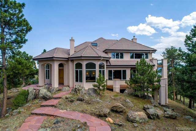 1734 Pinedale Ranch Circle, Evergreen, CO 80439 (#3605171) :: Hudson Stonegate Team