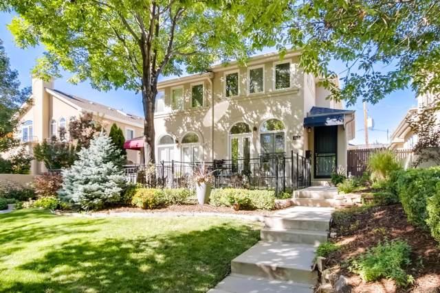 357 Jackson Street, Denver, CO 80206 (#3609302) :: The Griffith Home Team