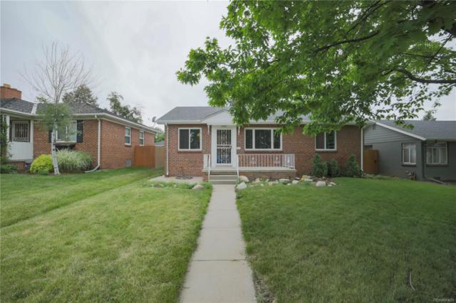1061 S Garfield Street, Denver, CO 80209 (MLS #3611190) :: Bliss Realty Group