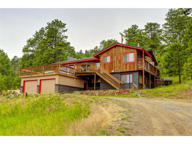 490 Beaver Brook Canyon Road, Evergreen, CO 80439 (MLS #3613385) :: 8z Real Estate
