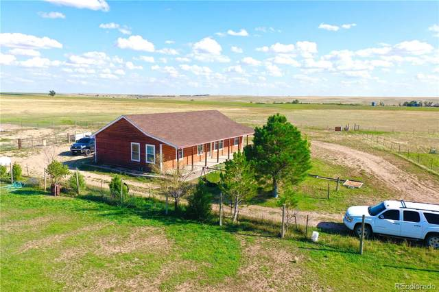 14900 County Road 153, Matheson, CO 80830 (#3615552) :: The DeGrood Team