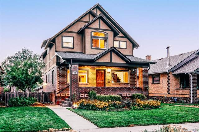 2039 S Corona Street, Denver, CO 80210 (#3617315) :: Chateaux Realty Group
