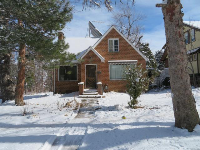 922 12th Street, Boulder, CO 80302 (#3617877) :: Real Estate Professionals