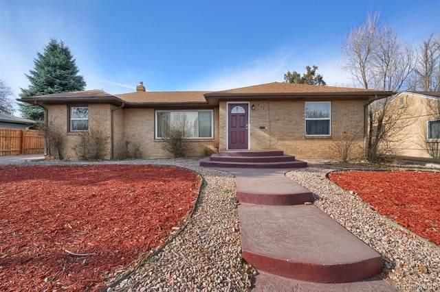 818 N Union Boulevard, Colorado Springs, CO 80909 (MLS #3625257) :: Keller Williams Realty