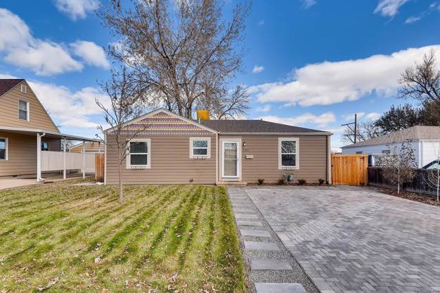 1801 W Stoll Place, Denver, CO 80221 (MLS #3633524) :: Keller Williams Realty