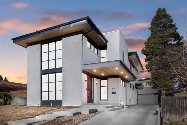215 S Ivy Street, Denver, CO 80224 (#3635169) :: The HomeSmiths Team - Keller Williams
