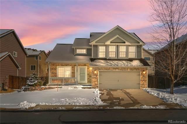 586 Hampstead Avenue, Castle Rock, CO 80104 (#3635287) :: The HomeSmiths Team - Keller Williams