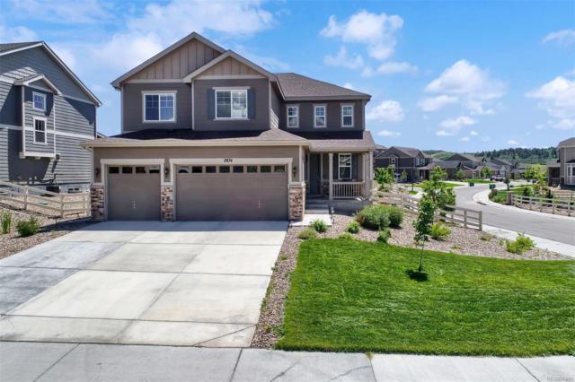 2874 Echo Park Drive, Castle Rock, CO 80104 (MLS #3636594) :: 8z Real Estate