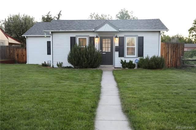 1249 Ulster Street, Denver, CO 80220 (#3636794) :: Mile High Luxury Real Estate