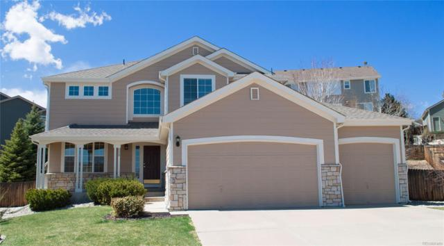8229 Cottongrass Court, Castle Pines, CO 80108 (#3637317) :: The Pete Cook Home Group