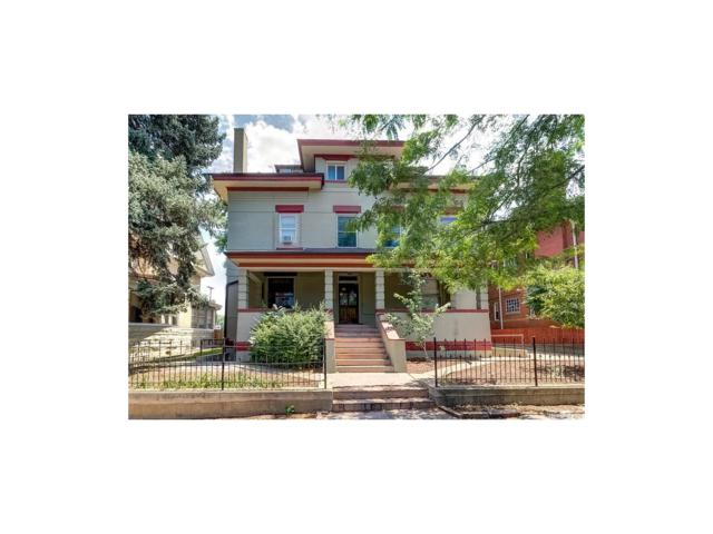 1450 High Street #2, Denver, CO 80218 (MLS #3640196) :: 8z Real Estate