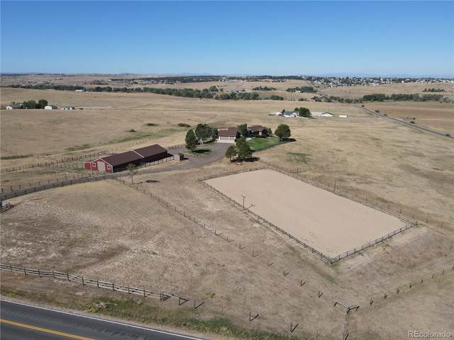 40757 County Road 21, Elizabeth, CO 80107 (#3642849) :: Real Estate Professionals