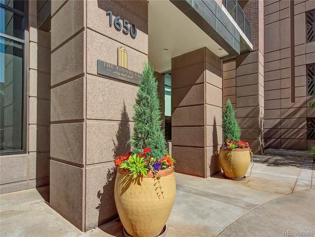 1650 Fillmore Street #1402, Denver, CO 80206 (#3643913) :: The Gilbert Group