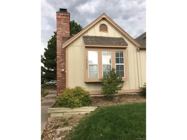 16904 E Whitaker Drive F, Aurora, CO 80015 (MLS #3644057) :: 8z Real Estate
