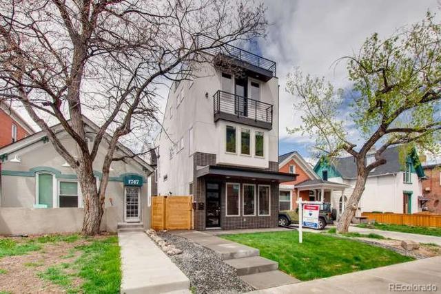 1751 N Clarkson Street, Denver, CO 80218 (#3646440) :: milehimodern