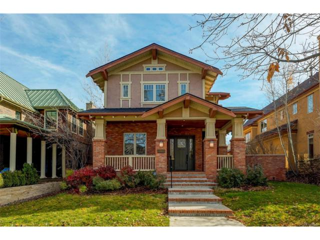 1144 S High Street, Denver, CO 80210 (#3649516) :: The Peak Properties Group