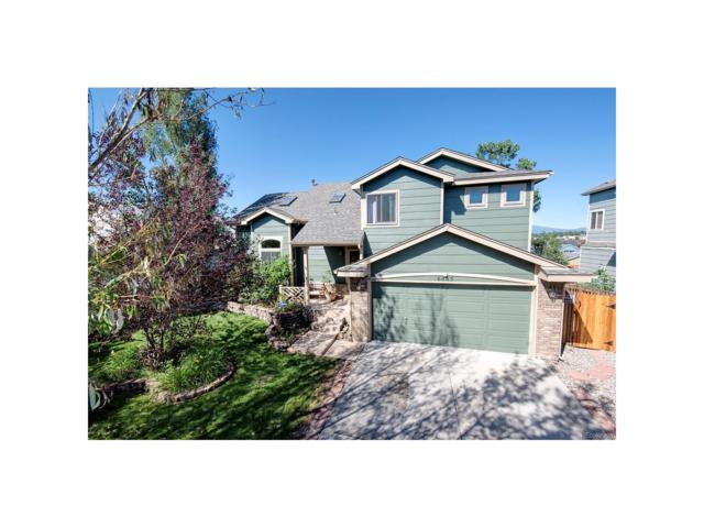 6885 Blazing Trail Drive, Colorado Springs, CO 80922 (MLS #3649746) :: 8z Real Estate