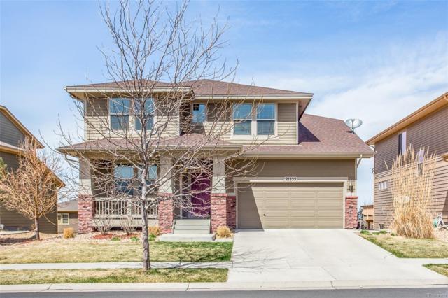 21455 E Stroll Avenue, Parker, CO 80138 (#3649755) :: The Peak Properties Group