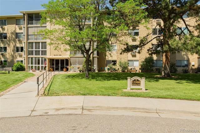 13500 E Cornell Avenue #310, Aurora, CO 80014 (MLS #3650517) :: Kittle Real Estate