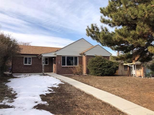 415 S Decatur Street, Denver, CO 80219 (MLS #3651444) :: 8z Real Estate