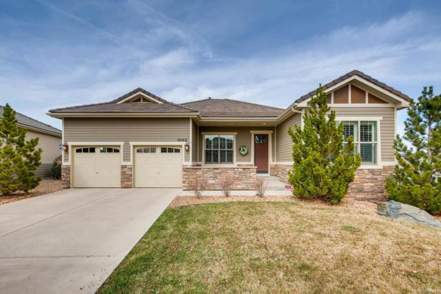 10162 Greenfield Circle, Parker, CO 80134 (#3651741) :: The Peak Properties Group