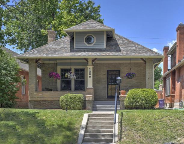 1269 Monroe Street, Denver, CO 80206 (#3652006) :: Sellstate Realty Pros