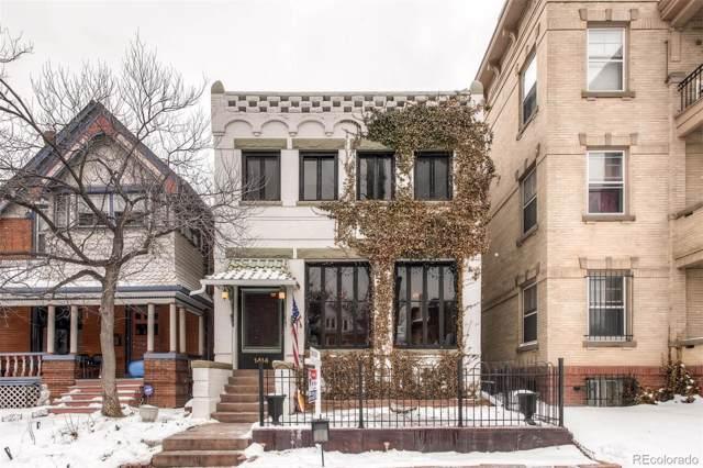 1414 Gaylord Street, Denver, CO 80206 (#3653964) :: Wisdom Real Estate