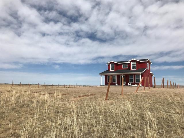 9345 N Log Road, Calhan, CO 80808 (#3654538) :: Compass Colorado Realty