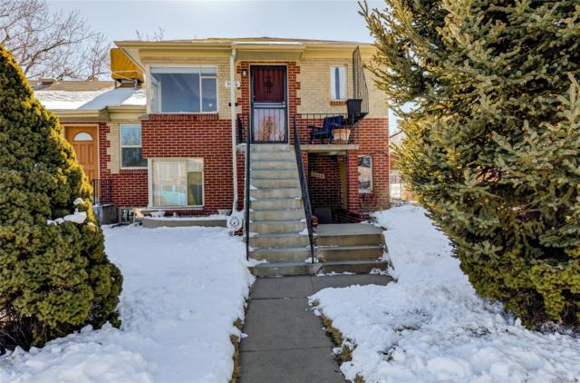 5012 W 36th Avenue #3, Denver, CO 80212 (#3654607) :: The Pete Cook Home Group