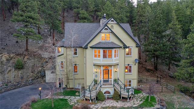 32081 Eagle Brook Drive, Evergreen, CO 80439 (#3657992) :: The Colorado Foothills Team | Berkshire Hathaway Elevated Living Real Estate