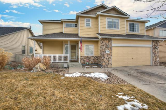 424 Iron Street, Lochbuie, CO 80603 (#3661880) :: The Heyl Group at Keller Williams