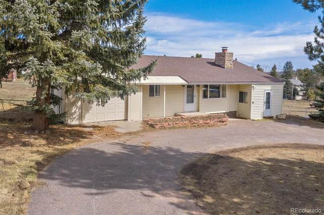5165 S Hatch Drive, Evergreen, CO 80439 (#3666008) :: Mile High Luxury Real Estate