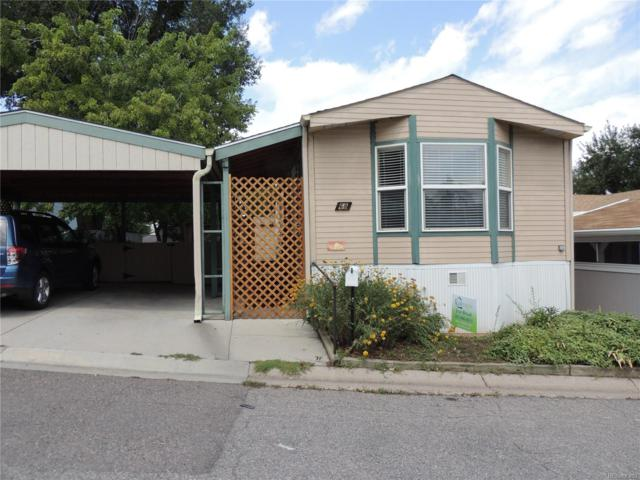 2000 W 92nd Avenue #68, Federal Heights, CO 80260 (MLS #3669285) :: 8z Real Estate