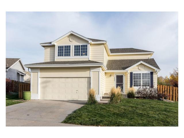 5696 S Quemoy Court, Centennial, CO 80015 (#3671495) :: ParkSide Realty & Management